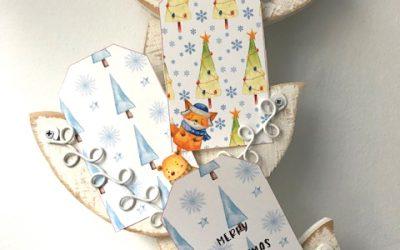 Free Christmas gift Tags – Day 4