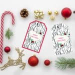 Free Christmas Gift Tags – Day 1