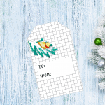 Free Christmas gift Tags – Day 8