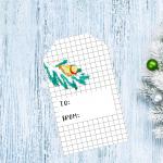 Free Christmas gift Tags – Day 8