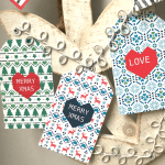 Free Christmas Gift Tags Day 3