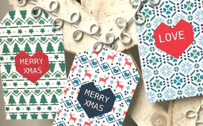 Free Christmas Gift Tags Day 3