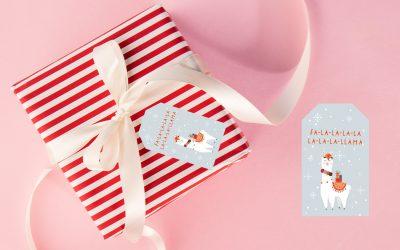 Free Christmas gift Tags – Day 7