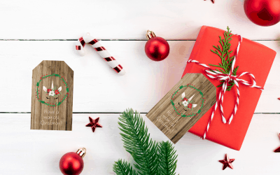 Free Christmas gift Tags – Day 5