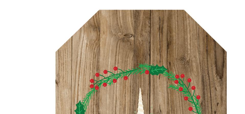 Christmas gift tags unicorn sneak peek