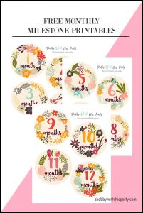 MONTHLY printables pinterest 1