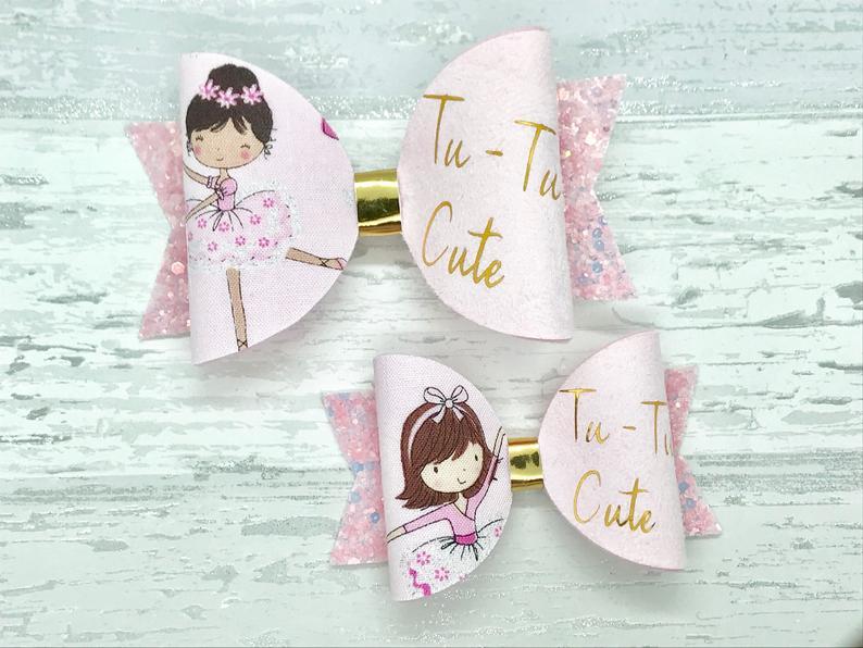 Little Girls Ballerina bows