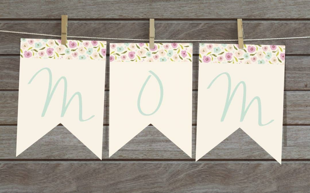 Free MOM banner for Mother's Day
