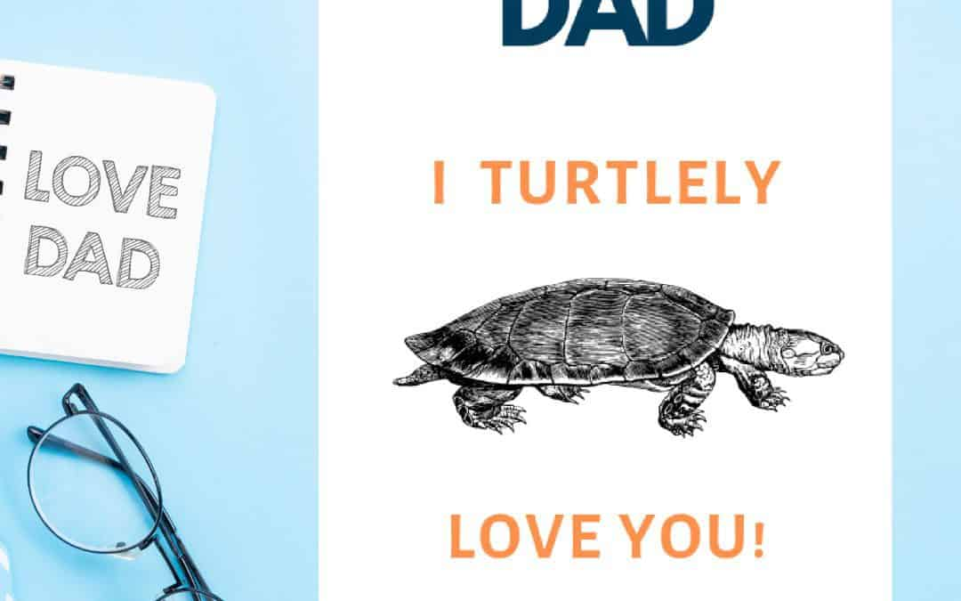 4 Free Printable Father's Day Cards