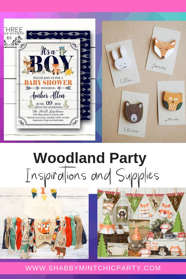 gender neutral woodland parties