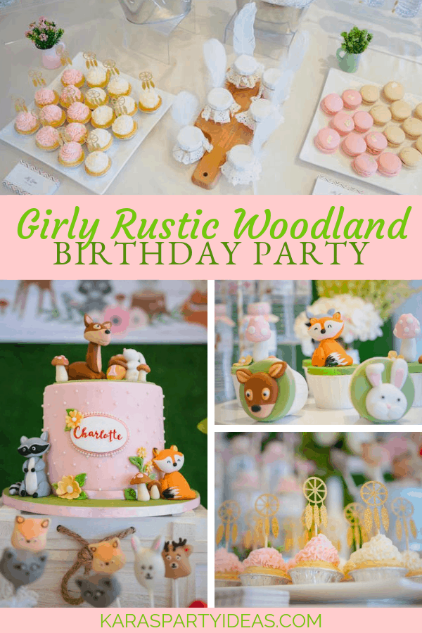 Woodland party ideas and inspiration rustic