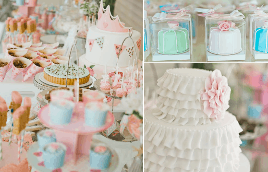 Shabby Chic First Birthday Party Inspirations and supplies