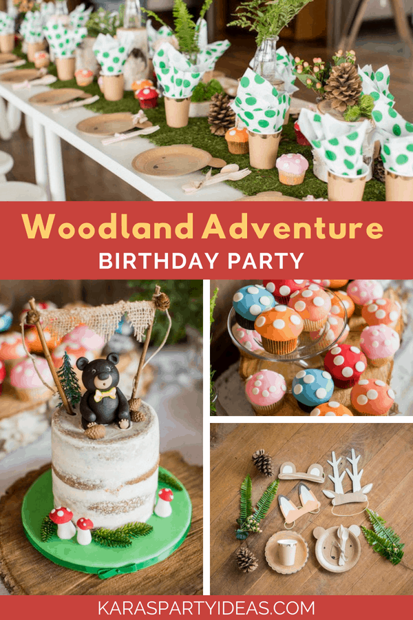 Woodland Party Ideas and Inspirations