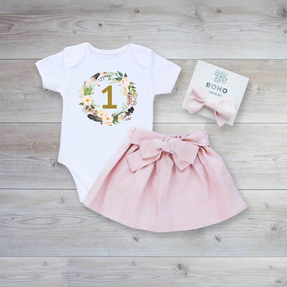 first birthday party outfit 2
