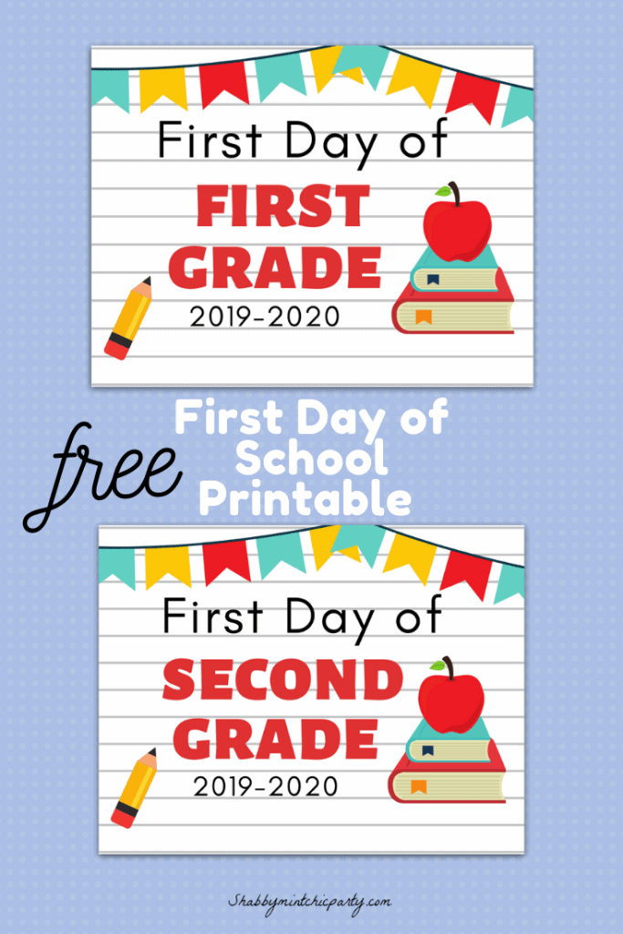 First Day of School Pinterest 9