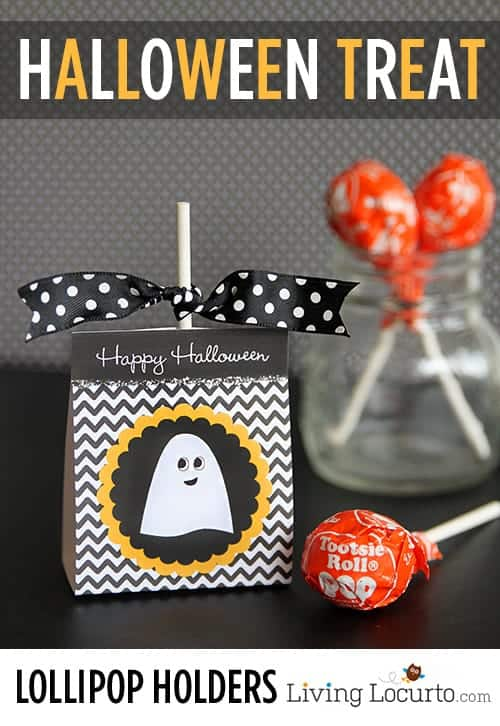 ghost lollipop holder halloween