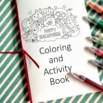 Free Halloween Activity and Coloring Book