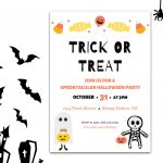 Free Halloween Party Invitation – Canva Templates