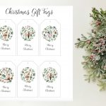 Free Woodland Animal Christmas Gift Tag Printables