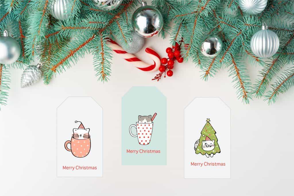 cat christmas tag mock-01