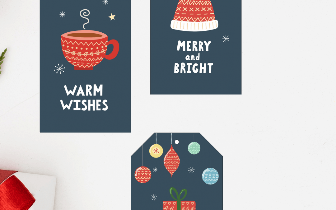 Free Cozy Christmas Gift Tags Printables