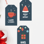 Free Cozy Christmas Gift Tags Printables