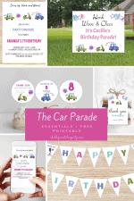 Birthday Car Parade Essentials + Free Printable
