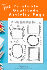 Free Printable Gratitude Activity for Kids