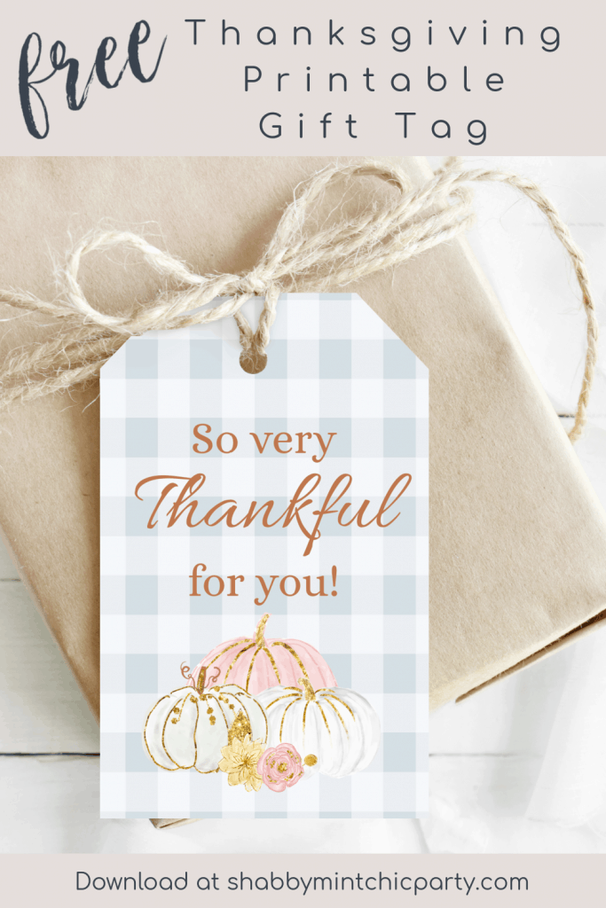 printable thanksgiving gift tag with the saying so very thankful for you