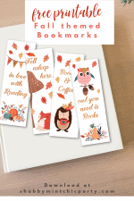 Free Printable Fall Themed Bookmarks