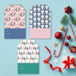 Three Free Printable Christmas Gift Tags