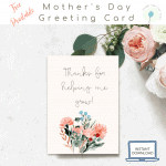 Free Printable Floral Mother's Day Card
