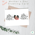 Free Personalized Mother's Day Photo Card