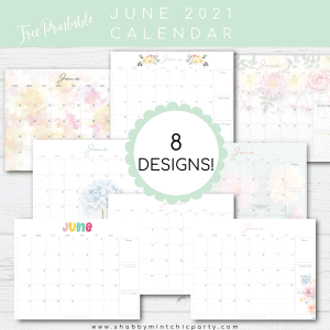 printable june 2021 calendar freebie