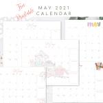 Free May Printable Calendar