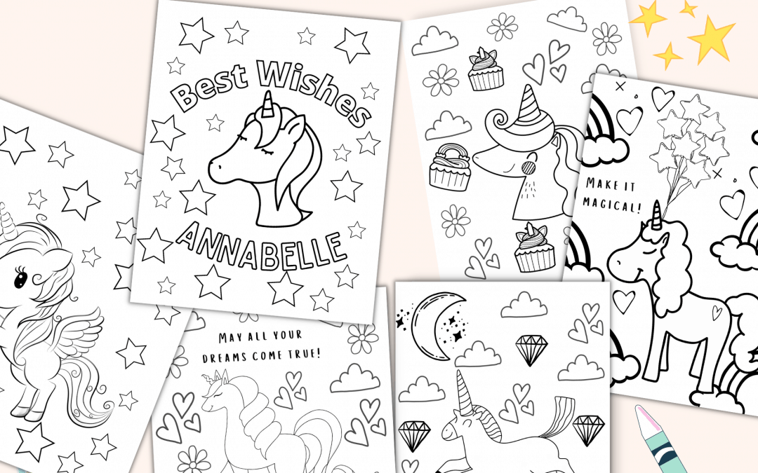 How to edit your coloring pages in Canva